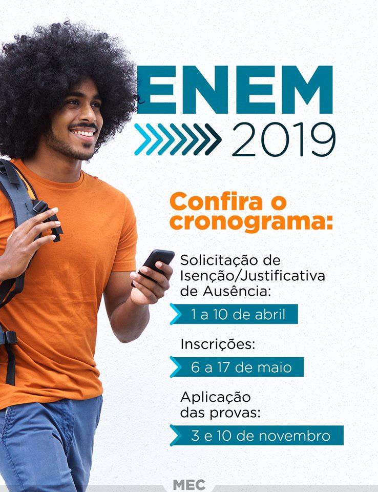Inscrição ENEM 2019