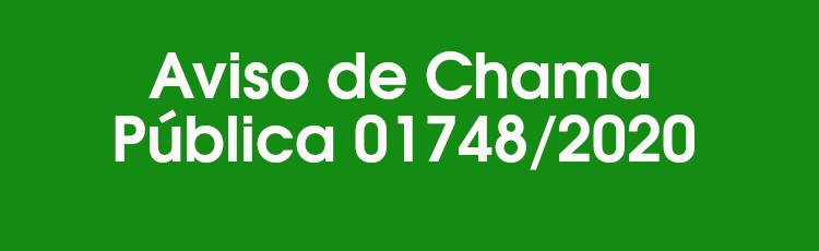 Aviso de Chama Pública 017482020